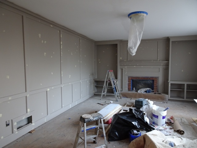 "Painting the ""Morris Room"""
