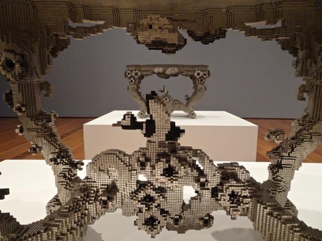 Digital Matter Tables/detail - Joris Laarman Labs -High Museum Atlanta GA