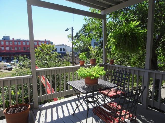 balcony - Castleberry Hill Loft Tour 2018